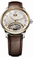 Maurice Lacroix Masterpiece Jours Retrogrades Mens Wristwatch MP6358-PS101-11E
