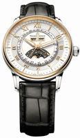 Maurice Lacroix Masterpiece Phase de Lune Mens Wristwatch MP6428-PS101-11E