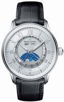 Maurice Lacroix Masterpiece Phase de Lune Mens Wristwatch MP6428-SS001-11E
