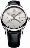 Maurice Lacroix Masterpiece Double Retrograde Mens Wristwatch MP6518-SS001-130