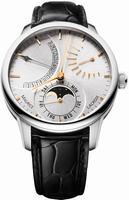 Maurice Lacroix Masterpiece Lune Retrograde Mens Wristwatch MP6528-SS001-130