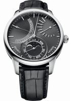 Maurice Lacroix Masterpiece Lune Retrograde Mens Wristwatch MP6528-SS001-330