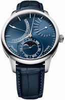 Maurice Lacroix Masterpiece Lune Retrograde Mens Wristwatch MP6528-SS001-430