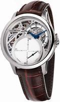 Maurice Lacroix Masterpiece Seconde Mysterieuse Mens Wristwatch MP6558-SS001-090