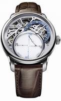 Maurice Lacroix Masterpiece Seconde Mysterieuse Mens Wristwatch MP6558-SS001-094