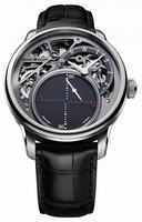 Maurice Lacroix Masterpiece Seconde Mysterieuse Mens Wristwatch MP6558-SS001-095