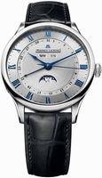Maurice Lacroix Masterpiece Phase de Lune Mens Wristwatch MP6607-SS001-110
