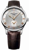 Maurice Lacroix Masterpiece Date GMT Mens Wristwatch MP6707-SS001-111