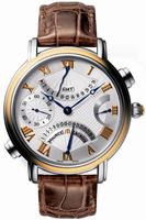 Maurice Lacroix Masterpiece Double Retrograde Mens Wristwatch MP7018-PS101-110