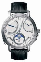 Maurice Lacroix Masterpiece Lune Retrograde Mens Wristwatch MP7078-SS001-120