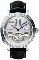 Maurice Lacroix Masterpiece Tourbillon Retrograde Mens Wristwatch MP7088-PL201-110