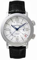 Maurice Lacroix Masterpiece Reveil Mens Wristwatch MP7118-SS001-110