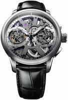 Maurice Lacroix Masterpiece Squelette Mens Wristwatch MP7128-SS001-100