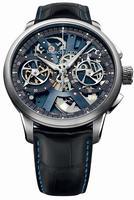 Maurice Lacroix Masterpiece Le Chronographe Squelette Mens Wristwatch MP7128-SS001-400
