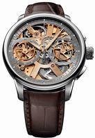 Maurice Lacroix Masterpiece Squelette Mens Wristwatch MP7128-SS001-500