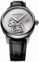 Maurice Lacroix Masterpiece Roue Carree Seconde Mens Wristwatch MP7158-SS001-901