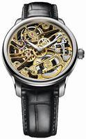 Maurice Lacroix Masterpiece Squelette Mens Wristwatch MP7208-SS001-001