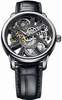 Maurice Lacroix Masterpiece Squelette Mens Wristwatch MP7228-SS001-000