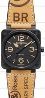 Bell & Ross BR 01-92 Heritage Mens Wristwatch BR0192-HERITAGE