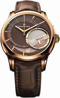 Maurice Lacroix Pontos Decentrique GMT Mens Wristwatch PT6118-PG101-731