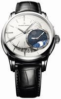 Maurice Lacroix Pontos Decentrique GMT Mens Wristwatch PT6118-SS001-130
