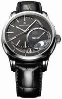 Maurice Lacroix Pontos Decentrique GMT Mens Wristwatch PT6118-SS001-330