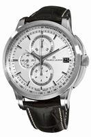 Maurice Lacroix Pontos Chronograph Valgranges Mens Wristwatch PT6128-SS001-130