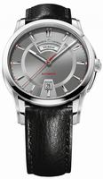 Maurice Lacroix Pontos Day and Date Mens Wristwatch PT6158-SS001-231