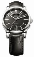 Maurice Lacroix Pontos Day Date Mens Wristwatch PT6158-SS001-33E