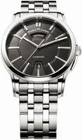 Maurice Lacroix Pontos Day Date Mens Wristwatch PT6158-SS002-33E