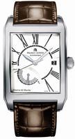 Maurice Lacroix Pontos Rectangulaire Mens Wristwatch PT6167-SS001-110