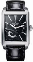 Maurice Lacroix Pontos Rectangulaire Mens Wristwatch PT6167-SS001-330
