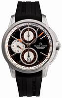 Maurice Lacroix Pontos Chronograph Titanium Mens Wristwatch PT6188-TT031-330