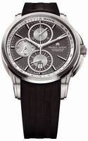 Maurice Lacroix Pontos Chronograph Titanium Mens Wristwatch PT6188-TT031-830