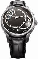 Maurice Lacroix Pontos Decentrique Phase de Lune Mens Wristwatch PT6218-TT031330