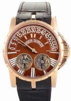 Roger Dubuis Excalibur Double Tourbillon Mens Wristwatch RDDBEX0063