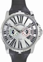Roger Dubuis Excalibur Triple Time Zone Mens Wristwatch RDDBEX0091
