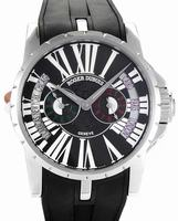 Roger Dubuis Excalibur Triple Time Zone Mens Wristwatch RDDBEX0092