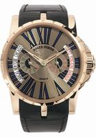 Roger Dubuis Excalibur Triple Time Zone Mens Wristwatch RDDBEX0126