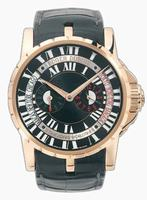 Roger Dubuis Excalibur Triple Time Zone Mens Wristwatch RDDBEX0202