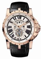 Roger Dubuis Excalibur Flying Tourbillon Mens Wristwatch RDDBEX0216