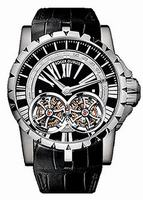 Roger Dubuis Excalibur Skeleton Double Flying Tourbillon Mens Wristwatch RDDBEX0248