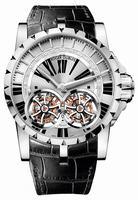 Roger Dubuis Excalibur Skeleton Double Flying Tourbillon Mens Wristwatch RDDBEX0250