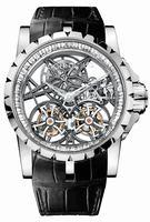 Roger Dubuis Excalibur Skeleton Double Flying Tourbillon Mens Wristwatch RDDBEX0252