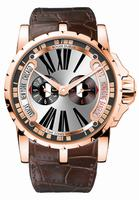 Roger Dubuis Excalibur Triple Time Zone Mens Wristwatch RDDBEX0258