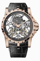 Roger Dubuis Excalibur Skeleton Double Flying Tourbillon Mens Wristwatch RDDBEX0283