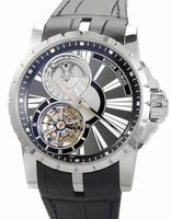 Roger Dubuis Excalibur Millesime Pierced Flying Tourbillon Mens Wristwatch RDDBEX0285