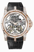 Roger Dubuis Excalibur Skeleton Double Flying Tourbillon Fine Jewellery Mens Wristwatch RDDBEX0298