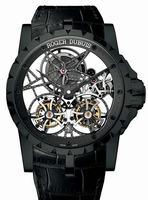 Roger Dubuis Excalibur Skeleton Double Flying Tourbillon Mens Wristwatch RDDBEX0364