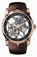 Roger Dubuis Excalibur 42 Skeleton Flying Tourbillon Men Wristwatch RDDBEX0392